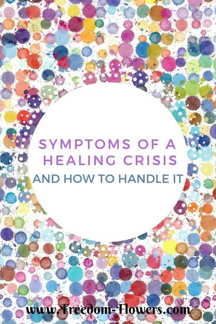 Symptoms of a healing crisis