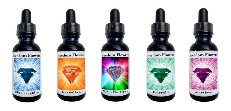Divine Gem Essences from Freedom Flowers