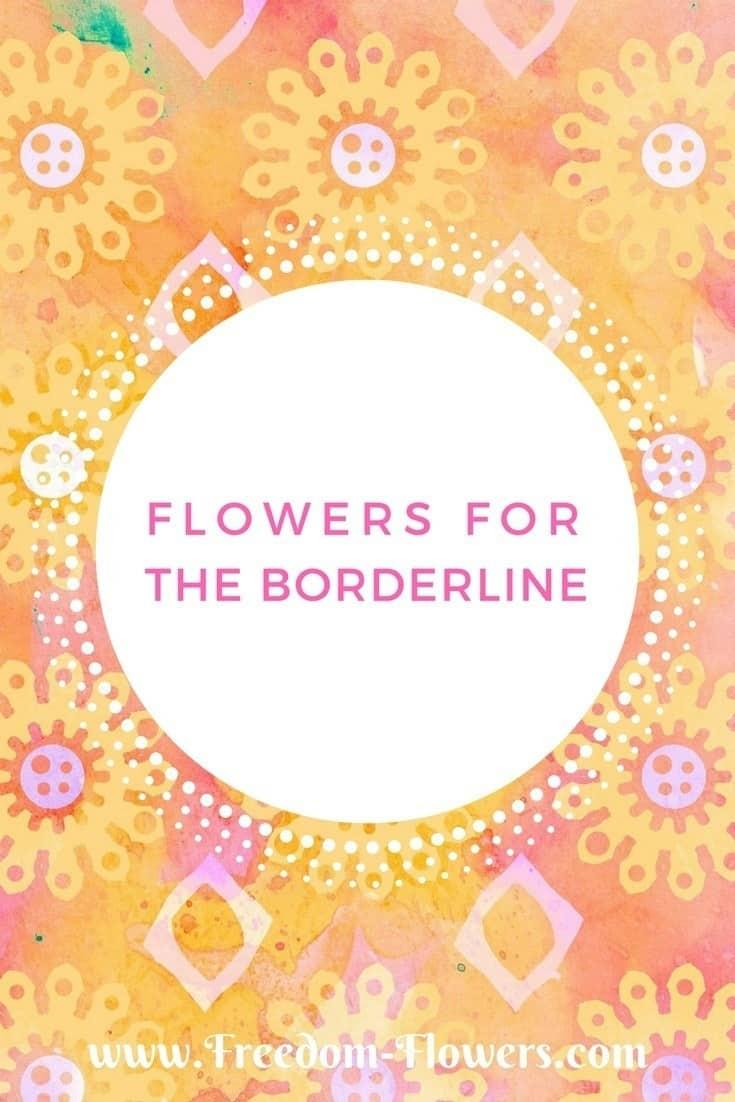Flower essences for borderline personality disorder