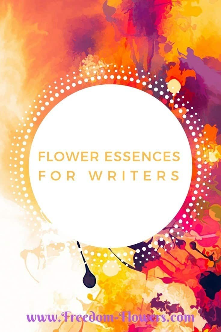 Flower Essences for writers